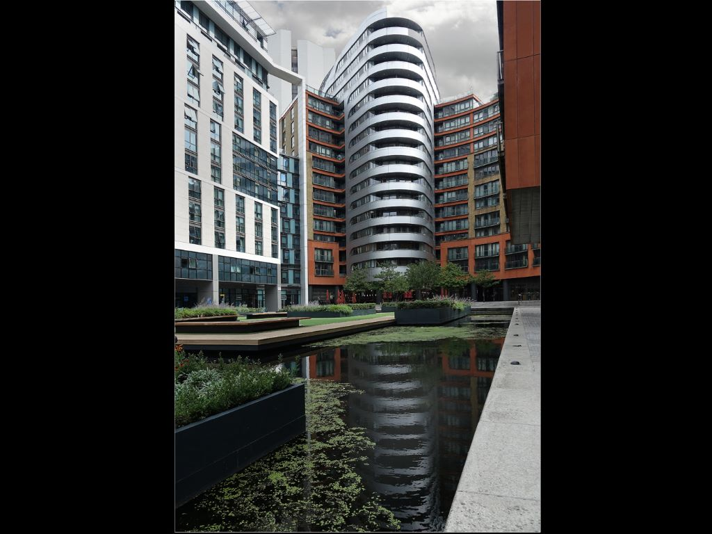 PADDINGTON BASIN Bill Collett Commended