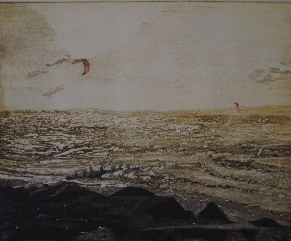 Evening Kite Surfing