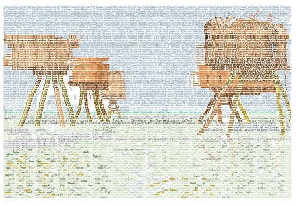 Maunsell Forts Word Art