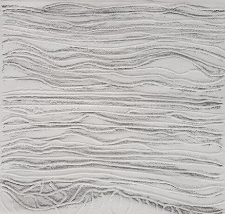 abstract with wavy horizontal lines