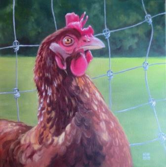 Happy chicken?