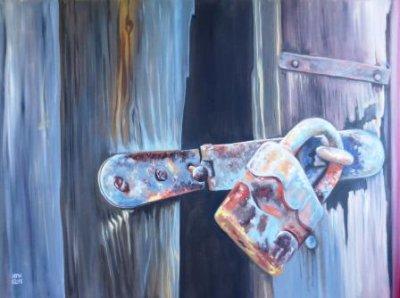 Rusty lock 1