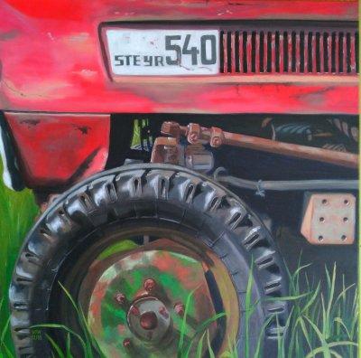 Steyr tractor