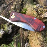 Rabbit friction folder with Cocobola wood scales
