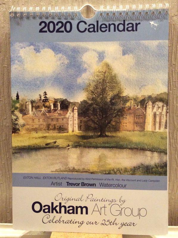 Calendar 2020 front cover - Exton Hall, Rutland