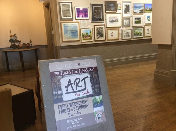 Our Winter exhibition starting 12/11/2019 is due to run through until Easter 2020, with occasional refreshing with artworks swaps from time to time. All works are hung for sale.