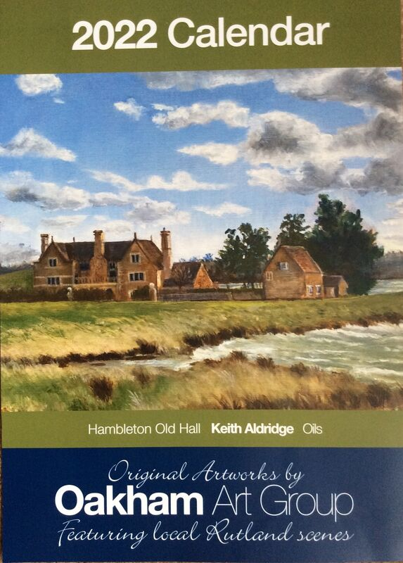 On some devices - SCROLL DOWN TO VIEW A FULL PAGE. Our front cover (as well as June) features Hambleton Old Hall by Rutland Water. An oil painting by Keith Aldridge