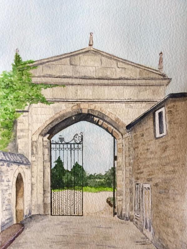 Oakham Castle Gateway