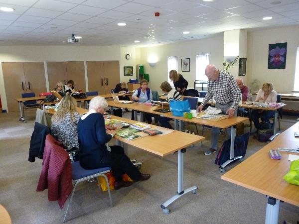 Our workroom at VAR (Rutland Community Hub) on Mondays in Lands End Way, Oakham
