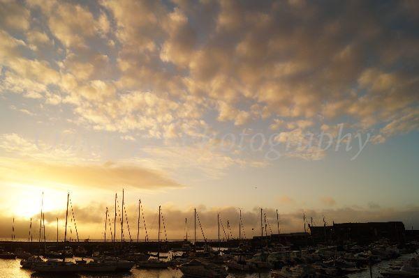 Lyme Regis cloudscape
