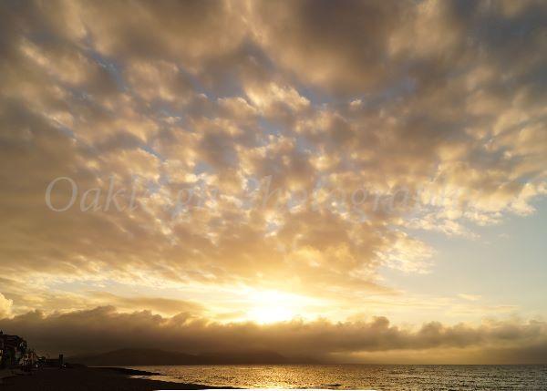 Lyme Regis sky