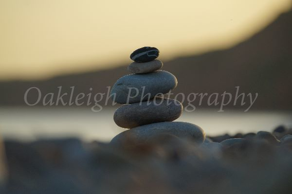 beach Pebble stack