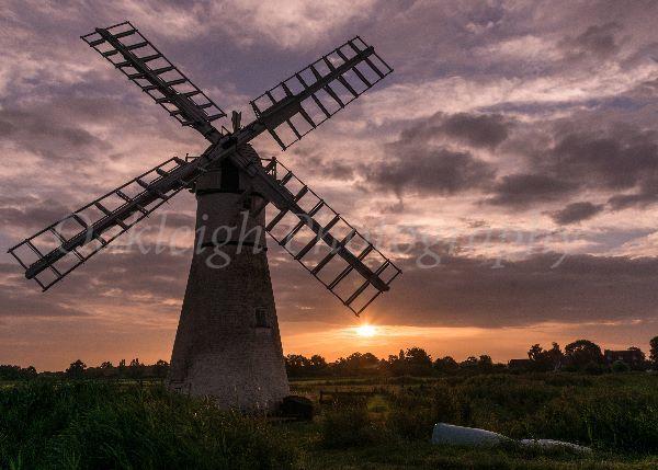 Thurne Pump sunrise