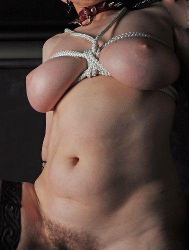 Allison - Boobs bound