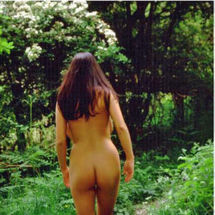 Alexis May - Walking the nudist way