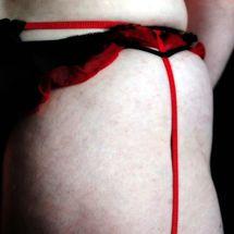 Susie - Red suspender