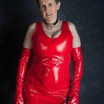 Allison - Red PVC