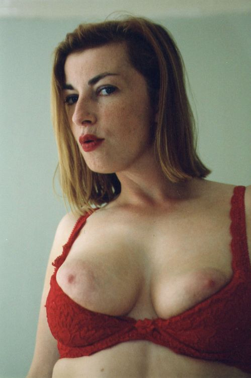 Karleene Morgan - Red bra