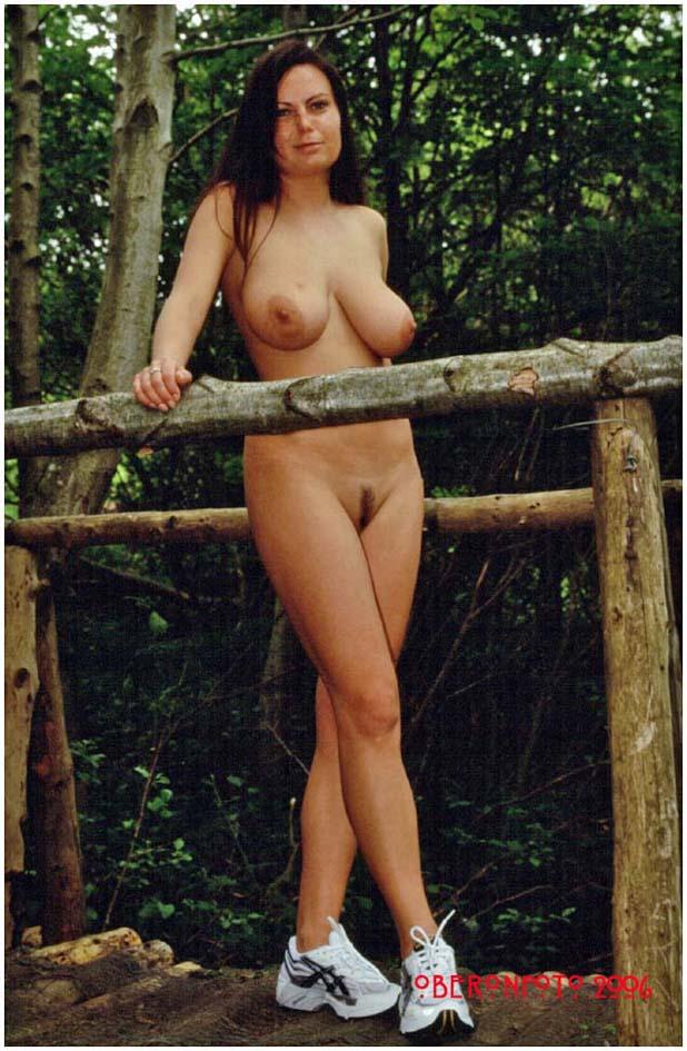 Alexis May - Nude bridge