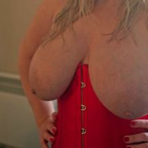 Jas - Red corset