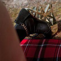 Lou - Gold heels