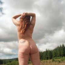 Lou - Nude in the forest