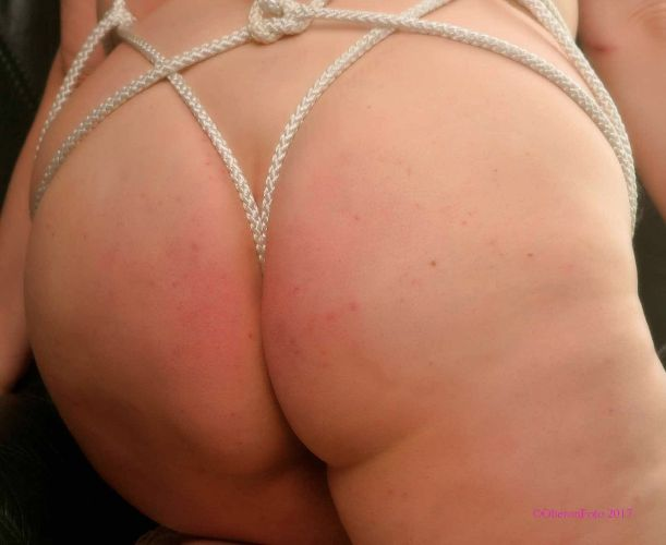 Tan - Arse roped