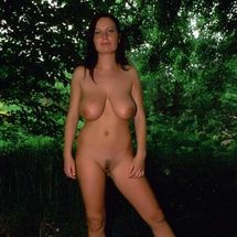 Alexis May - Relaxed in the forest