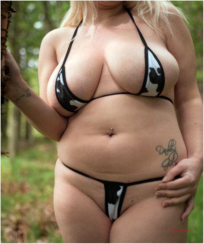 Jas - Fun fur bikini