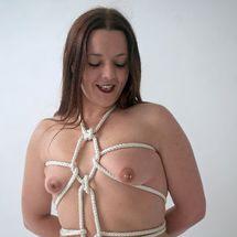 Lou - Happy rope bunny