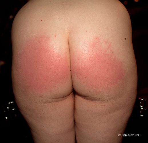 Lucy - Spanked arse