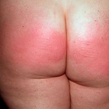 Lucy - Caned arse