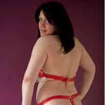 Lucy - Red chain bikini