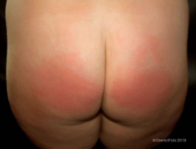 Lucy - Arse spanked
