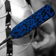 Lucy - Blue animal print paddle
