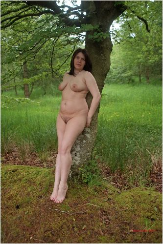 Lucy - Nude in the forest