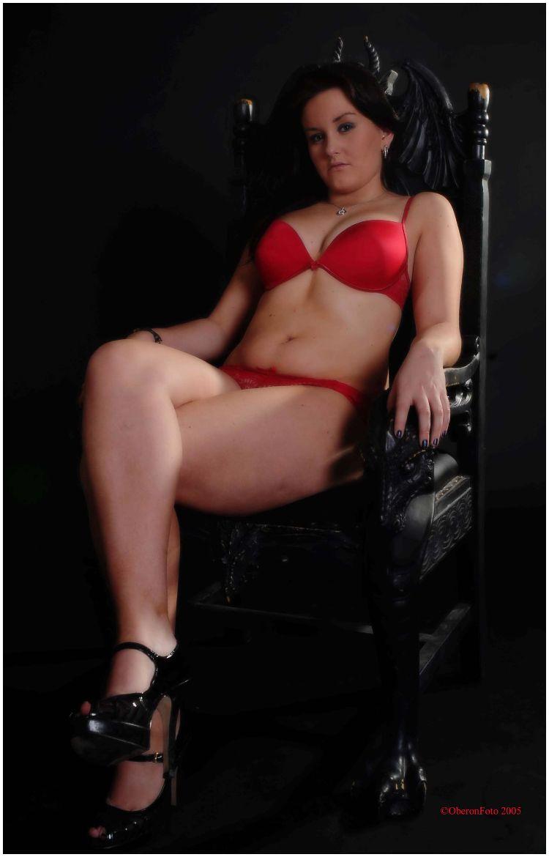 Kaden- Red lingerie