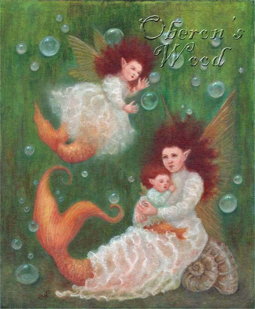 'Faerie Goldfish Pond'