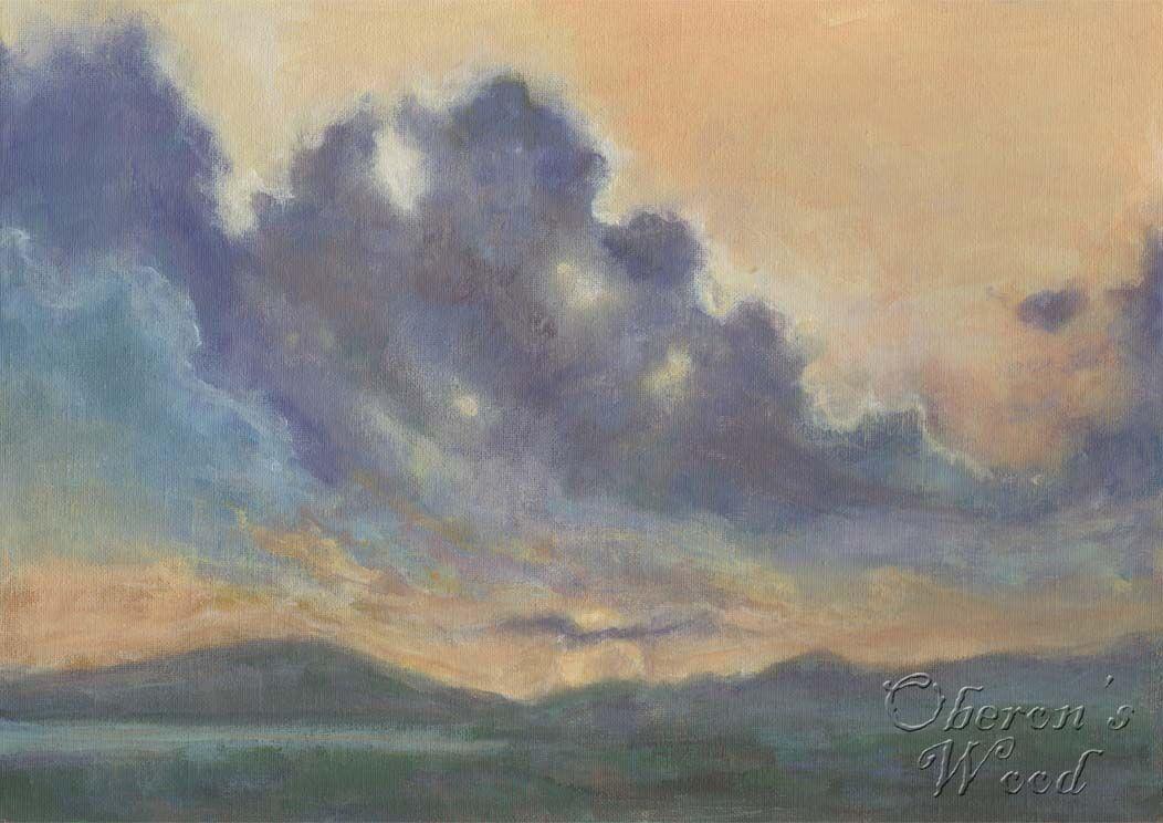 'Sunset Over Snowdonia'