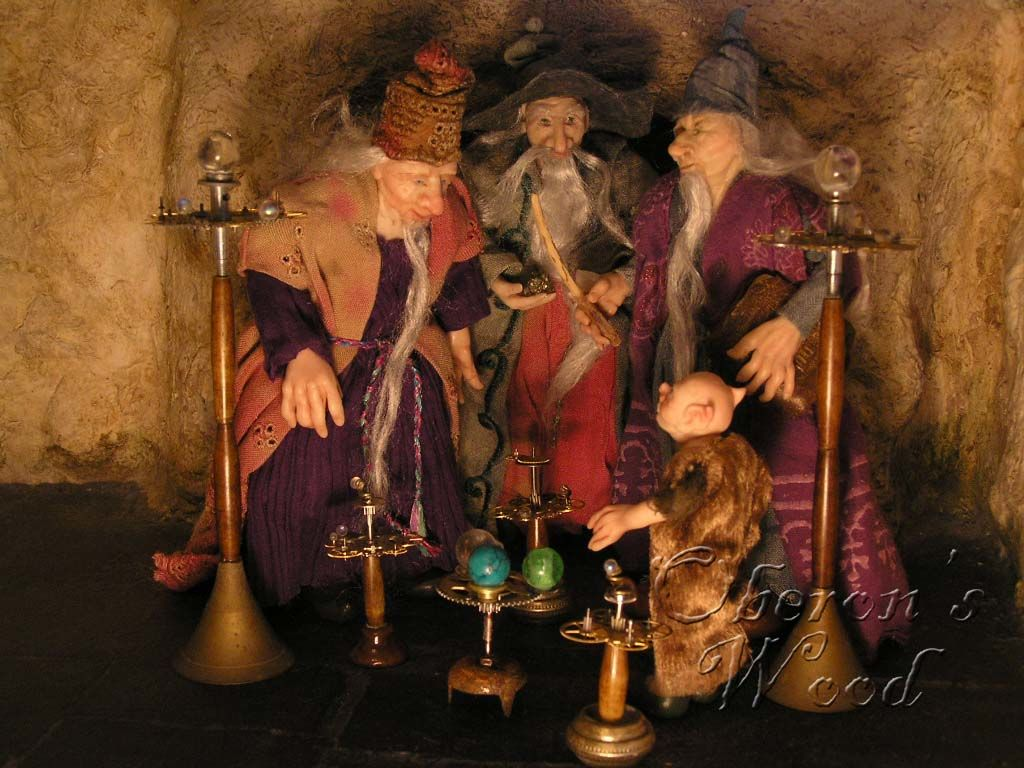 'When Shall We Three Wizards Meet Again?'