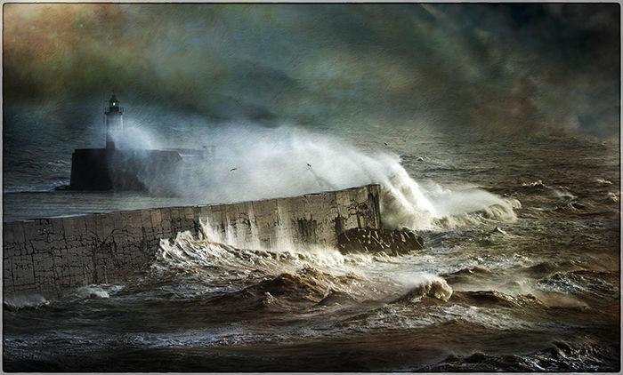 Storm Erik Batters Newhaven