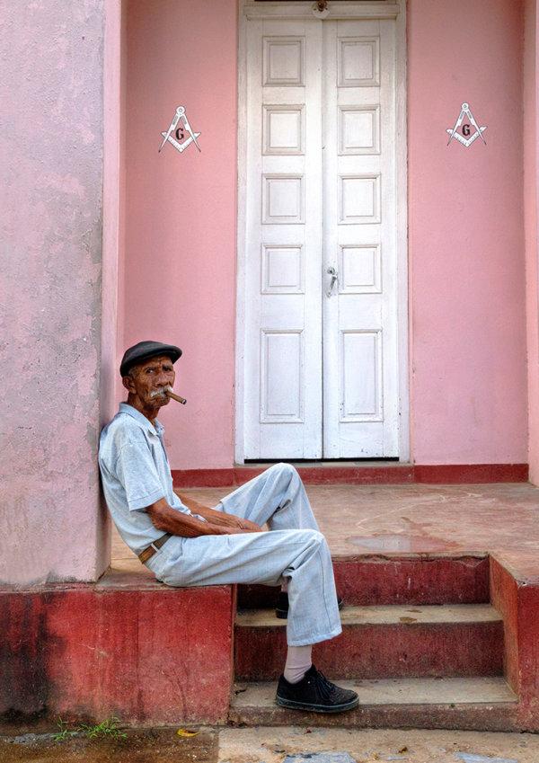 Cuban Doorway