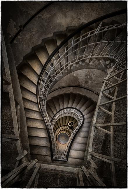 Prague Stairway