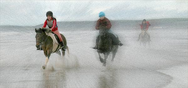 Racing Ponies Westward Ho!