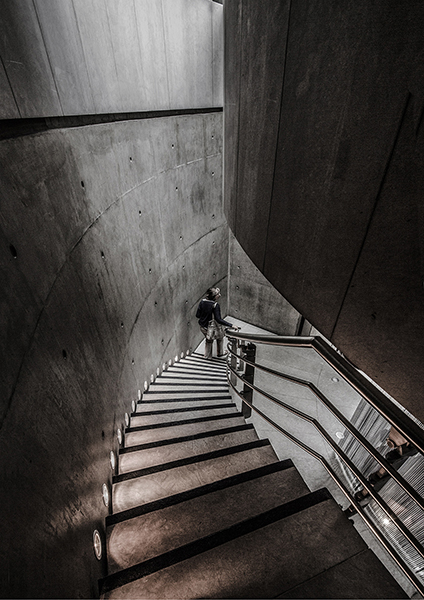 Staircase at Channel 4