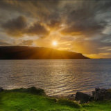 Sunrise across the Loch