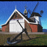 Lytham Lifeboat Station and Windmill