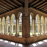 Cloister, Collegiate Church, St Emilion