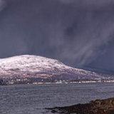 Loch Linnie Approaching Storm