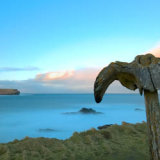Whale Bone over Birsay